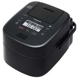 【新品/在庫あり】スチーム&可変圧力IHジャー炊飯器 Wおどり炊き SR-VSX189-K ブラック