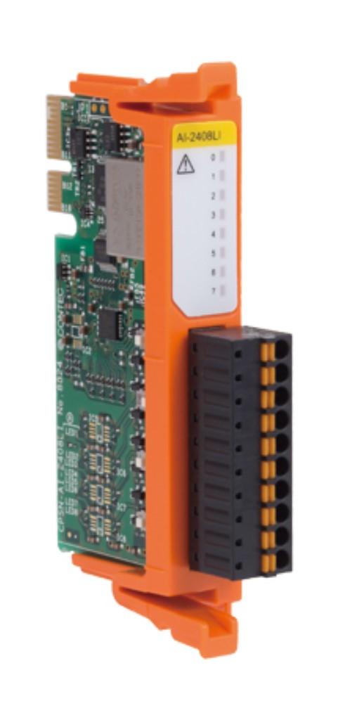 【新品/取寄品/代引不可】nanoシリーズ アナログ入力(8ch、24bit) CPSN-AI-2408LI