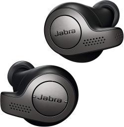 超目玉 新品 在庫あり Jabra 高級 完全ワイヤレスイヤホン Elite 防水 チタンブラック ジャブラ 65t