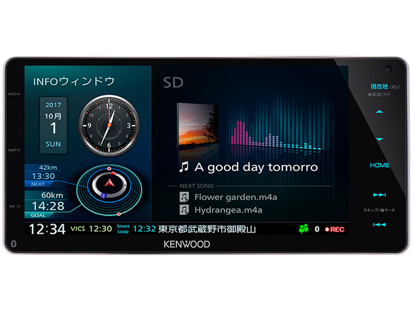 【新品/取寄品】MDV-Z905W 彩速ナビ TYPE Z 7V型 AVナビゲーション 200mmワイドモデル
