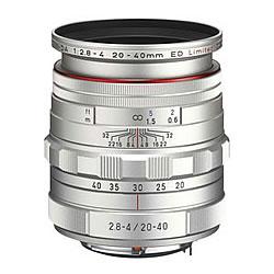 【新品/取寄品】HD PENTAX-DA 20-40mmF2.8-4ED Limited DC WR シルバー