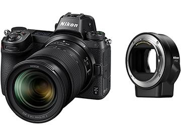 【新品/取寄品】ミラーレスカメラ Z 6 24-70+FTZ マウントアダプターキット