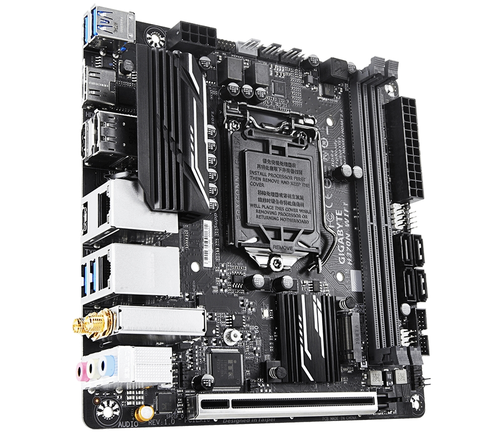 【新品/取寄品/代引不可】GIGABYTE H370チップセット搭載マザーボード H370N WIFI H370N WIFI