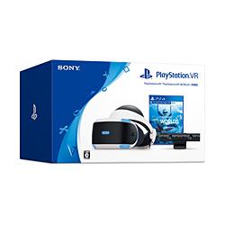 【新品/取寄品】PlayStation VR本体 PlayStation VR WORLDS同梱版 [CUHJ-16006]