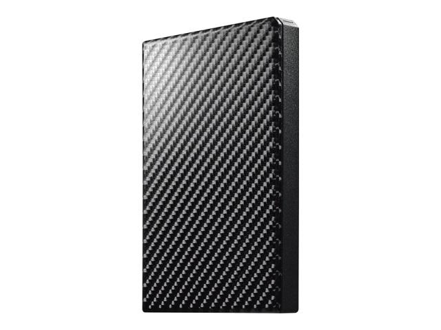 【新品/取寄品】USB 3.1 Gen 1対応ポータブルハードディスク「高速カクうす」カーボンブラック 1TB HDPT-UTS1K