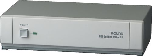 【新品/取寄品/代引不可】RGB4分配器DU-4SE(高解像度対応・4分配器・業務用) DU-4SE
