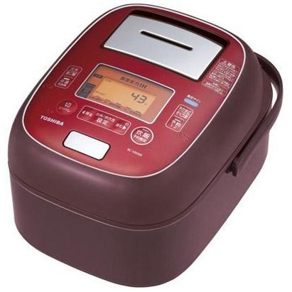 【新品/在庫あり】東芝 真空圧力IHジャー炊飯器 RC-10VXM(RS) 真空圧力IH [5.5合炊き] RC-10VXM(RS) [ディープレッド] [5.5合炊き], 上里町:6af36326 --- officewill.xsrv.jp
