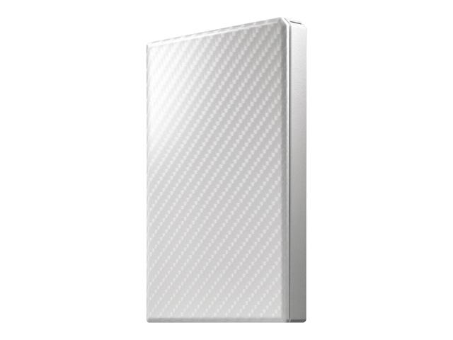 【新品/取寄品】USB 3.1 Gen 1対応ポータブルハードディスク「高速カクうす」セラミックホワイト 1TB HDPT-UTS1W