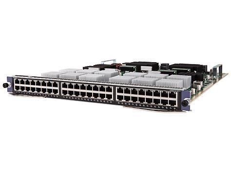 【新品/取寄品/代引不可】HP 12900 48port 1/10GBASE-T FX Module JH007A