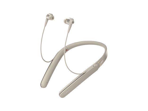 【新品/在庫あり】WI-1000X-N シャンパンゴールド ワイヤレスノイズキャンセリングステレオヘッドセット(ネックバンドスタイル)