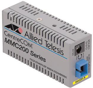 【新品/取寄品/代引不可】CentreCOM MMC201A ファーストイーサネット・メディアコンバータ 0020R