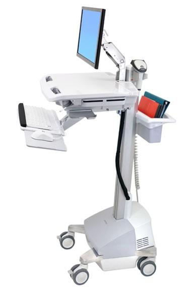 【新品/取寄品/代引不可】スタイルビューEMRカート LCDアーム付き パワー式 SV42 LCD arm 100V50Hz 66Ah SLA JPN SV42-6201-6