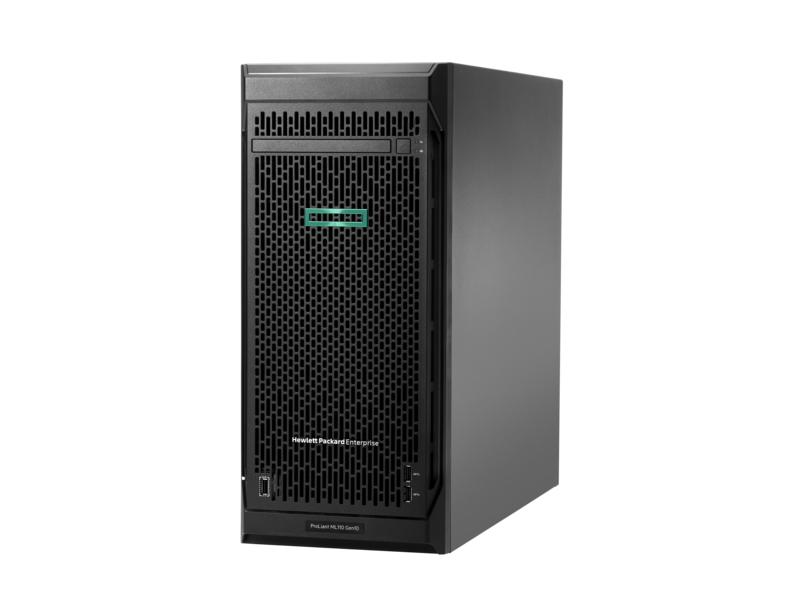 【新品/取寄品/代引不可】ML110 Gen10 Xeon Silver 4208 2.1GHz 1P8C 16GBメモリ ホットプラグ 4LFF(3.5型)S100i 550W電源 タワーGSモデル P10812-291