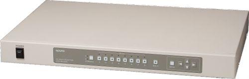【新品/取寄品/代引不可】パソコン(KVM)切替器RPM-8N DUAL(マルチ画面表示機能・コンソール8入力) RPM-8N DUAL