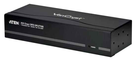 【新品/取寄品/代引不可】8ポートカテゴリ5オーディオ・ビデオ分配器 VS1208T/ATEN