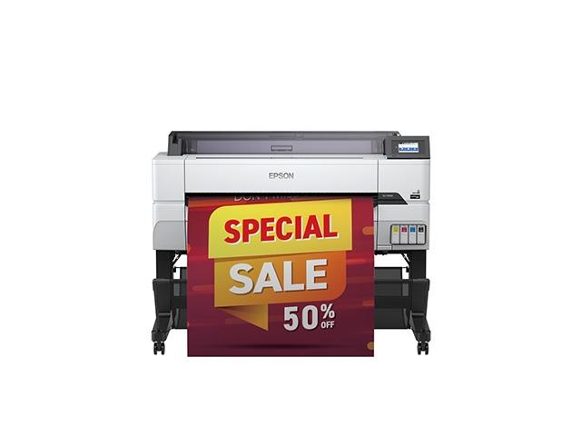 【新品/取寄品/代引不可】Sure Color 大判インクジェットプリンター SC-T5455(A0プラス/4色/スタンダードシリーズ/専用スタンド標準装備) SC-T5455