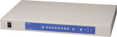 【新品/取寄品/代引不可】パソコン(KVM)切替器RPM-8W DUAL(マルチ表示機能・ワイド出力・8入力) RPM-8W DUAL