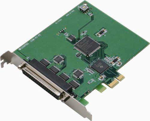 【新品/取寄品/代引不可】PCI Express対応RS-232Cシリアル通信ボード COM-4C-PE
