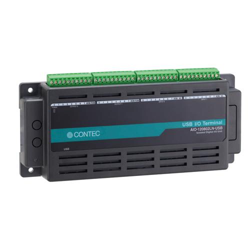 【新品/取寄品/代引不可】USB対応 Nシリーズ マルチファンクションDAQユニット AIO-120802LN-USB