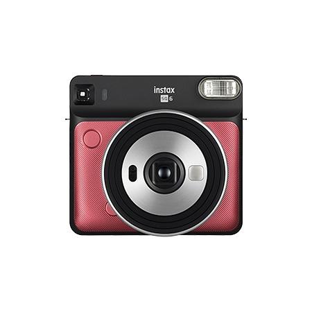 【新品/取寄品】FUJIFILM インスタントカメラ INS SQ 6 RUBY RED(ルビーレッド) INS SQ 6 RUBY RED