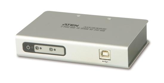 【新品/取寄品/代引不可】2ポート USB/RS-232C対応コンバータ UC2322/ATEN