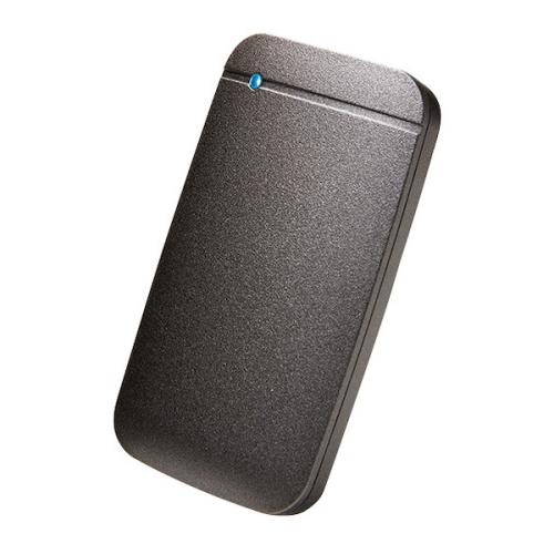 【新品/取寄品/代引不可】外付けSSD/ポータブル/USB3.2(Gen1)対応/TLC搭載/Type-C&Type-Aケーブル付属/250GB/ブラック ESD-EF0250GBK