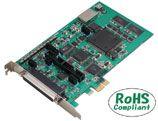 【新品/取寄品/代引不可】PCI Express 対応 100KSPS 16ビット分解能 アナログ入出力ボード AIO-161601E3-PE