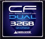 【新品/取寄品】233倍速UDMA対応コンパクトフラッシュ ECC機能搭載 32GB GH-CF32GD