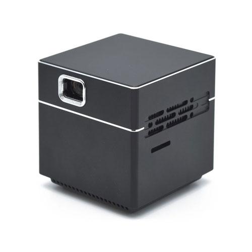 【新品/取寄品/代引不可】ポータブルプロジェクター CUBE ブラック SPCUBK