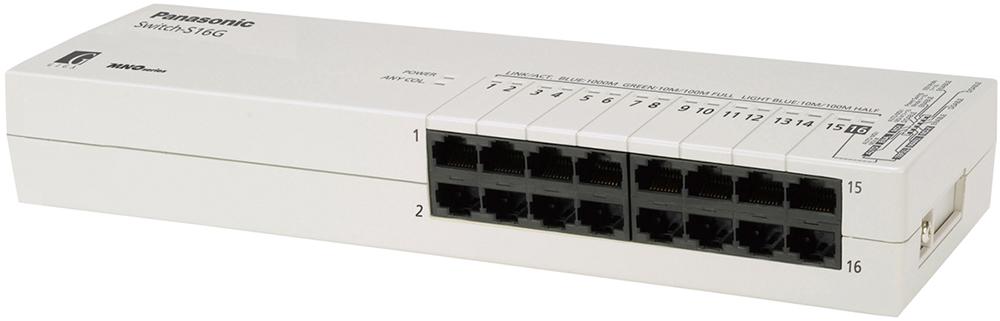 【新品/取寄品/代引不可】Switch-S16G PN24160KB5 [サテングレー]