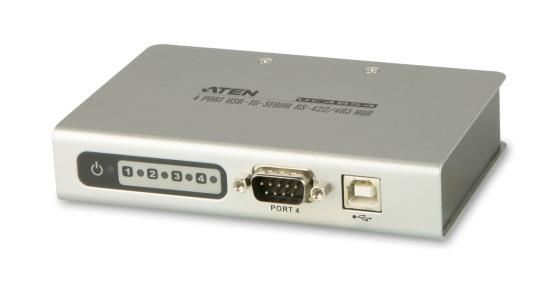 【新品/取寄品/代引不可】4ポート USB/RS-422・485対応コンバータ UC4854/ATEN