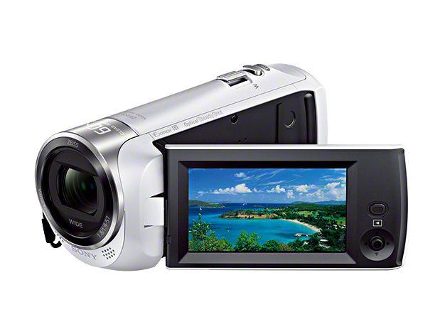 新品 取寄品 商い 人気ブレゼント デジタルHDビデオカメラレコーダー HDR-CX470-W Handycam ホワイト