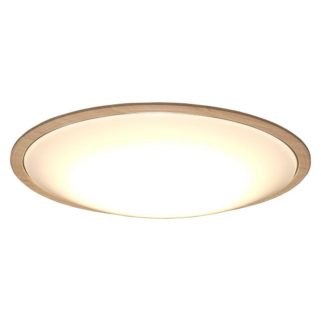 【新品/取寄品/代引不可】LEDシーリングライト 5.11 音声操作 ウッドフレーム8畳調色 CL8DL-5.11WFV-U