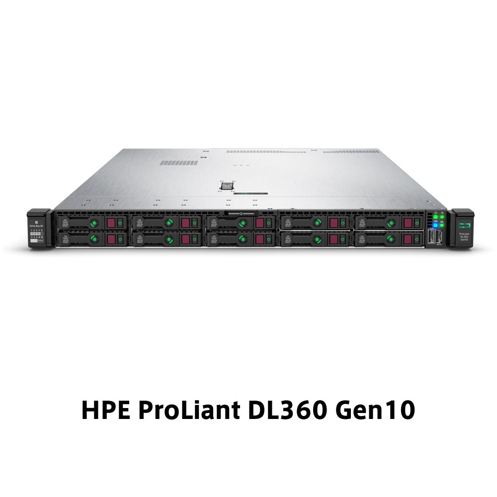 【新品/取寄品/代引不可】DL360 Gen10 Xeon Bronze 3204 1.9GHz 1P6C 16GBメモリ ホットプラグ 8SFF(2.5型)S100i 500W電源 ラックGSモデル P03629-291