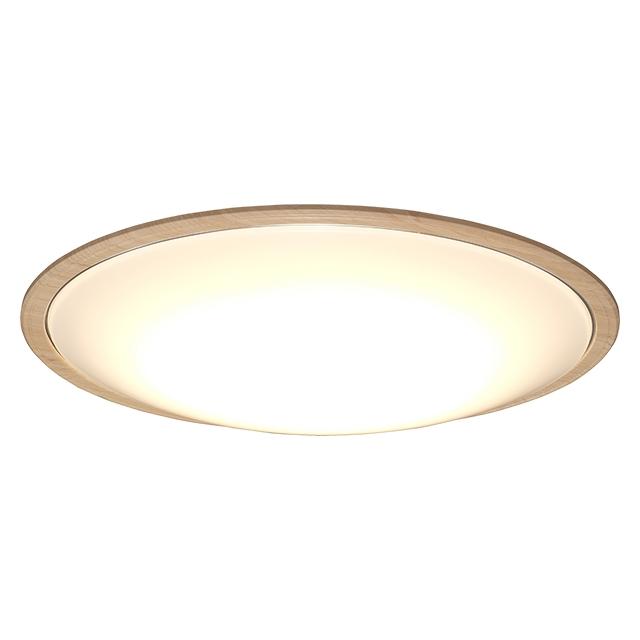 【新品/取寄品/代引不可】LEDシーリングライト 5.11 音声操作 ウッドフレーム12畳調色 CL12DL-5.11WFV-U