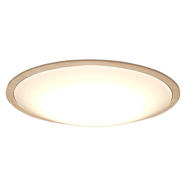 【新品/取寄品/代引不可】LEDシーリングライト 5.11 音声操作 ウッドフレーム14畳調色 CL14DL-5.11WFV-U