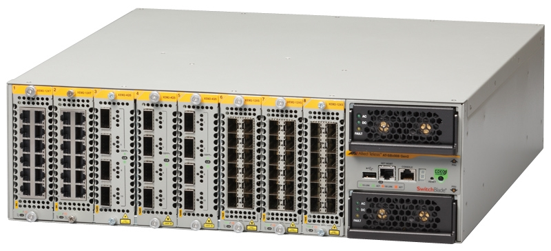【新品/取寄品/代引不可】AT-SBx908 GEN2-Z7-AM80L-1Y-Pack[SBx908 GEN2本体+AMF40ライセンス1年(デリバリースタンダード保守7年付)] P0585Z7