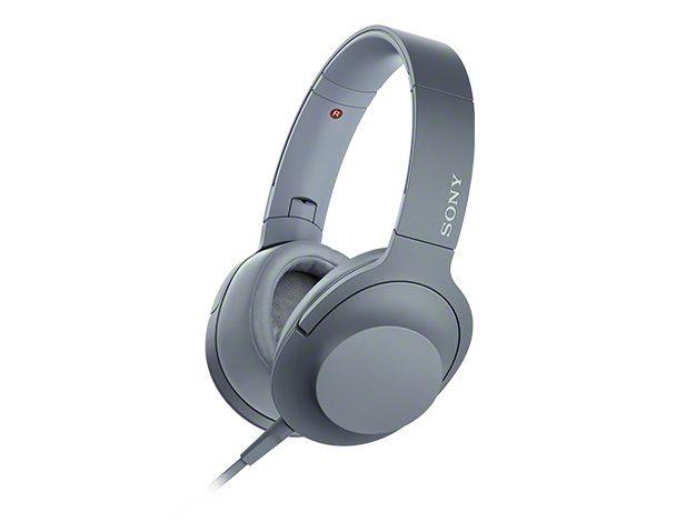 【新品/取寄品】ステレオヘッドホン h.ear on 2 ムーンリットブルー MDR-H600A/L