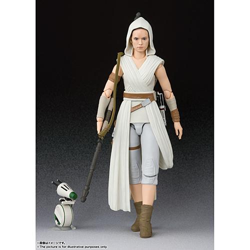 【新品/在庫あり】[バンダイ] S.H.フィギュアーツ レイ & D-O(STAR WARS: The Rise of Skywalker) *STAR WARS EMBLEM STAGE プレゼントキャンペーン対象