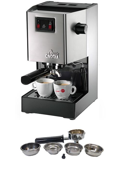 【新品/取寄品】Gaggia(ガジア) 全自動エスプレッソマシン Classic SIN035  コーヒーメーカー