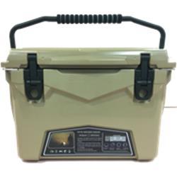 【新品/取寄品/代引不可】Iceland HardCoolerBox 20QT(18.9L) Sand CL-02001【日本正規品】【北海道・沖縄・離島配送不可】
