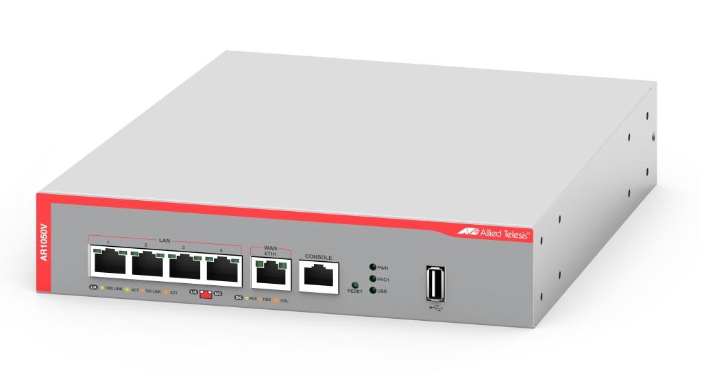 【新品/取寄品/代引不可】AT-AR1050V-Z5 [WAN:10/100/1000BASE-Tx1、LAN:10/100/1000BASE-Tx4、USBポートx1(デリバリースタンダード保守5年付)] 3934RZ5