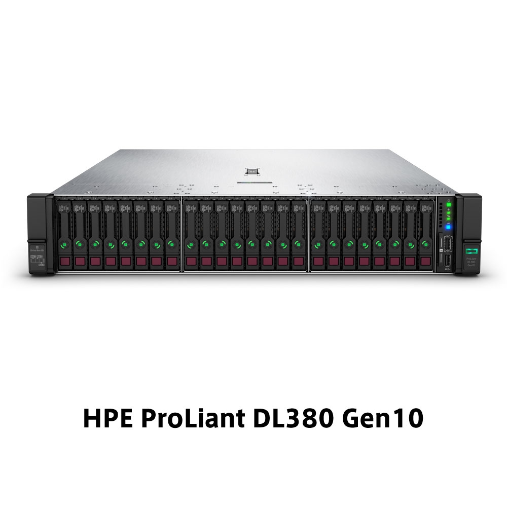 【新品/取寄品/代引不可】DL380 Gen10 Xeon Silver 4208 2.1GHz 1P8C 32GBメモリ ホットプラグ 24SFF(2.5型)P408i-a/2GB 800W電源 ラックGSモデル P02467-291