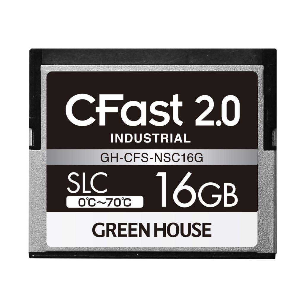 【新品/取寄品/代引不可】CFast2.0 SLC 0~70℃ 16GB GH-CFS-NSC16G