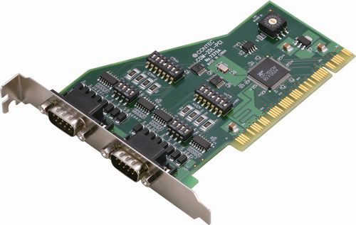 【新品/取寄品/代引不可】PCI対応 非絶縁型RS-422A/485 2chシリアルI/Oボード COM-2DL-PCI