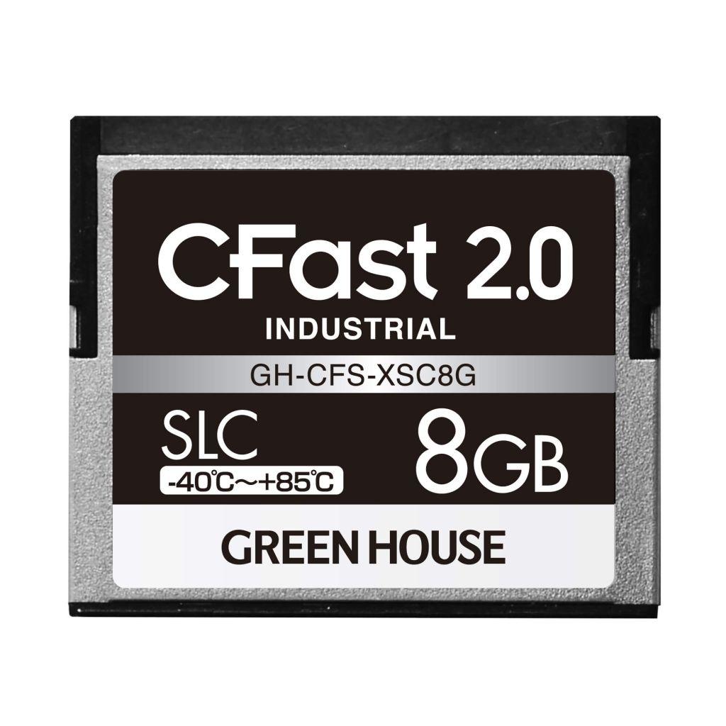 CFast GH-CFS-NMD16G 2.0の高速転送に対応したインダストリアル CFast (工業用)