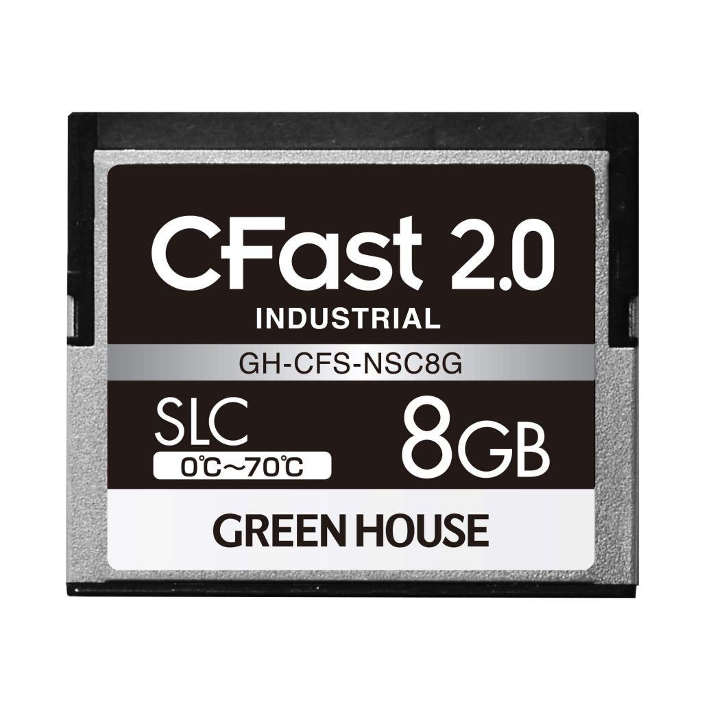 【新品/取寄品/代引不可】CFast2.0 SLC 0~70℃ 8GB GH-CFS-NSC8G
