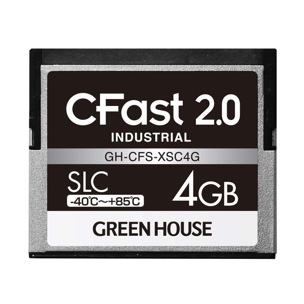 【新品/取寄品/代引不可】CFast2.0 SLC -40~+85℃ 4GB GH-CFS-XSC4G