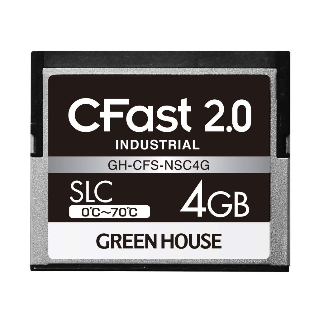 【新品/取寄品/代引不可】CFast2.0 SLC 0~70℃ 4GB GH-CFS-NSC4G