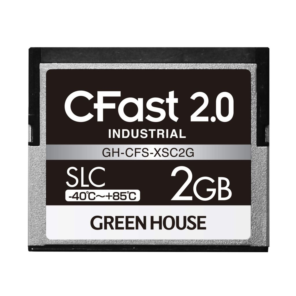 【新品/取寄品/代引不可】CFast2.0 SLC -40~+85℃ 2GB GH-CFS-XSC2G